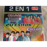 Cd Compilado 2 Grupos Juveniles, Chamos Y Ciclon, 20 Exitos.