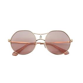8d3516ecc3cc9 Broche Rosa Em Strass - Óculos De Sol no Mercado Livre Brasil
