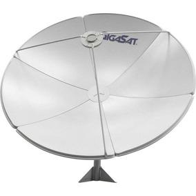 Antena Parabólica Gigasat Gs150 1,50m Banda Ku E C 3 Unid