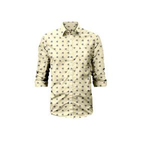 Camisa Victorville Rosé Pistol Para Hombre - Beige