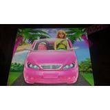 Automóvil De Barbie. Coche Convertible Barbie