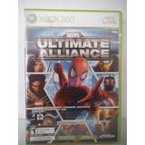 Marvel Ultimate Alliance Y Forza Motorsport Xbox 360 Fisico