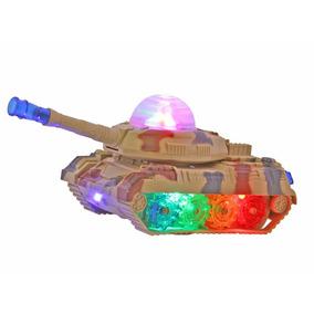 Brinquedo Menino Tanque De Guerra Luz Bate E Volta Oferta