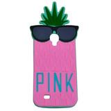 Funda 14 Silicona Victoria Secret Pink Samsung S4 S5