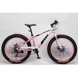 Bicicleta Para Nena Sbk Fat Bike Recreo R24 Envio Todo Pais