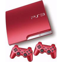 Playstation 3 Slim De 320 Gb Nueva C/2 Juegos + 2 Joystick !