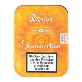 Tabaco De Pipa Peterson Summertime 2016. Ed. Limitada X100gr