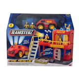 Set Rescate Bomberos Teamsterz 14039
