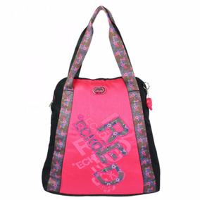 Bolsa Ecko Grande Tote Bag Feminina Rosa Pink Esportiva