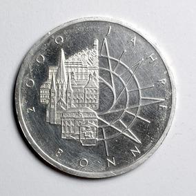 Rara Moeda Prata Da Alemanha Comemorativa 10 Marcos 1989