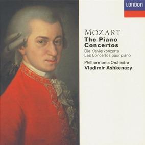 Mozart - Conciertos Para Piano - Ashkenazy - Edición 10 Cds