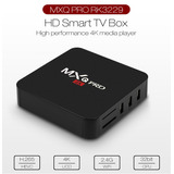 Mxq Pro 4k Hd Inteligente Tv Caja Wifi Android Medios De Com