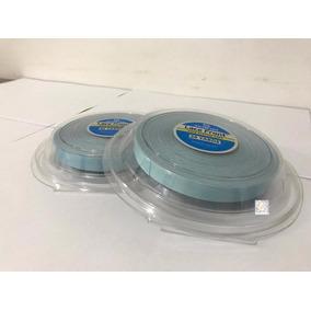 Fita Adesiva Azul Prótese Capilar Mega Hair 36 Metro X 1.3cm