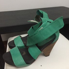 b255a0c6c65 Sandalias Verdes Zapatos Y Franciscanas - Sandalias Prüne de Mujer ...