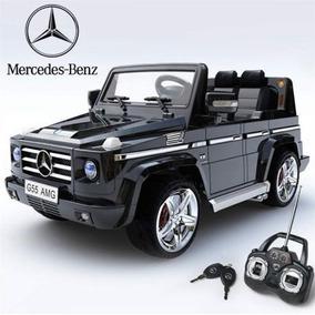 Jipe Elétrico Infantil Mercedes Amg Preto C Controle Remoto