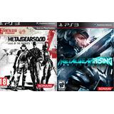 Metal Gear Solid Revengeance+metal Gear Solid 4 Ps3 Digital