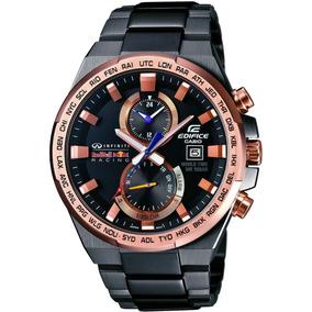 Relógio Casio Edifice Infiniti Red Bull Racing Analógico Cro