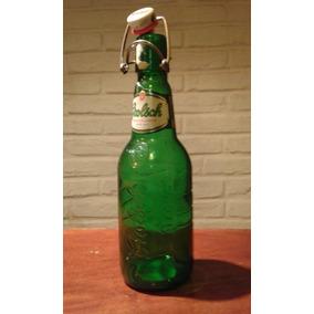 Botella De Cerveza Con Tapa De Cerámica