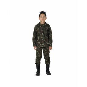 Farda Infantil Camuflada Exército Brasileiro, Militar