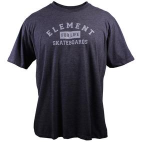 Camiseta Element For Life Chumbo Mescla