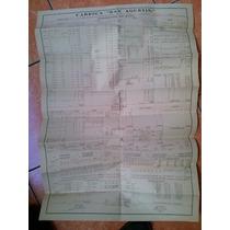 Poster Cartel Lista Contable De Raya Fábrica Sn Agustin 1914
