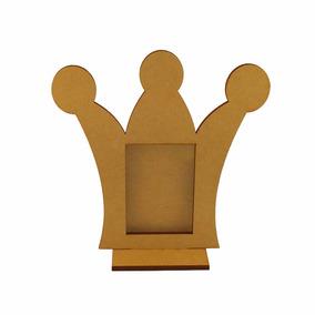 Souvenir Portaretrato Corona Princesa - Fibrofácil