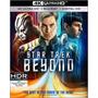 4k Ultra Hd + Blu-ray Star Trek Beyond / Sin Limites