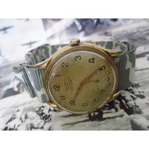 Relógio Cauny Prima Militar Anos 50 Corda Manual