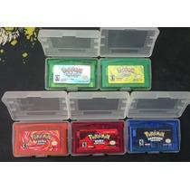 Coleção Pokemon Gameboy Advanced E Nintendo Ds