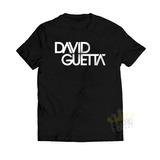 Camisa David Guetta Dj Camiseta