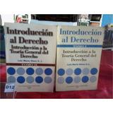 Introduccion Al Derecho Luis Maria Olaso 2 Tomos