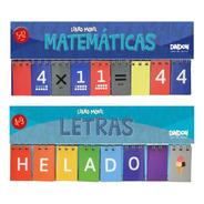 Libro Móvil De Letras + Libro Móvil De Matemáticas