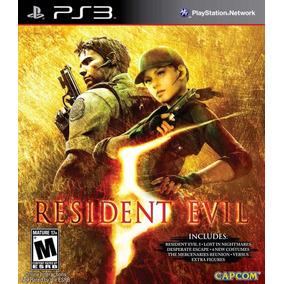 Resident Evil 5 Ps3 Gold Edition Digital Español Hoy!!!