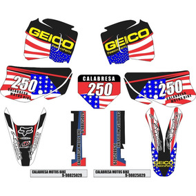 Kit Grafico Xr 200 0,2mm Trilha Rally Personalizado Moto A B