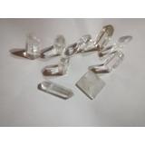 7 Puntas Cuarzo Cristal Reiki 2-3 Cm + Piramide O Biterminal