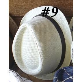 6 Chapéus Infantil Fedora Estilo Panamá