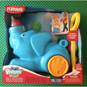 Juguete Elefante Caminador Cazabolitas Poppin Park Playskool