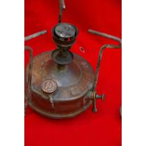 Calentador Antiguo A Kerosene De Bronce - Optimus Nº0