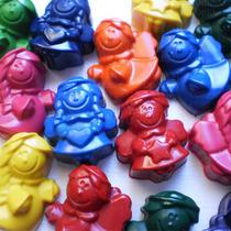 Crayones - Souvenirs - Angelitos - Primer Año - Pack X48 Un.