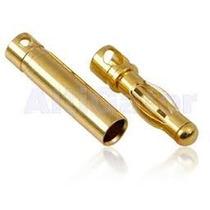 Conector Bullet 4mm Par Futaba Turnigy Trex 450 500 600 700