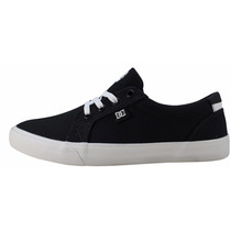 Tênis Dc Shoes Preto Branco Masculino Feminino Original Novo