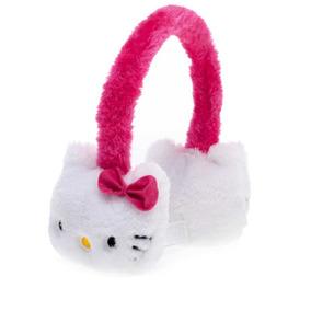 Divinas Orejeras Hello Kitty Super Abrigadas, Rosa O Rojo