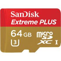Memoria Micro Sd Xc Sandisk Extreme Plus 64gb U3 95mbs Gopro