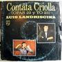 Luis Landriscina Contata Criolla Opas 22 Yo 23 Disco Vinilo