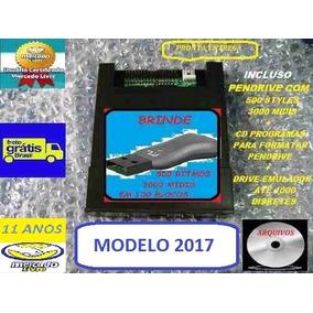 Pendrive Emulador Teclado Roland G800 Modelo 2017 E Brinde