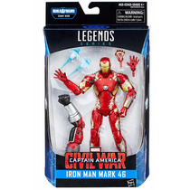 Marvel Legends Civil War Iron Man Mark 46 Baf Giant Man 2016