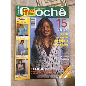 Revista Feito A Mão Especial Crochê E Tricô Bata Blusa
