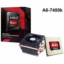 Processador Amd A6 7400k, Black Edition, Cache 1mb, 3.9ghz