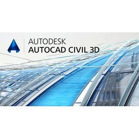 Autcad Civil 3d 2018 - 64 Bits + Curso Receba Hoje