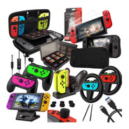 Kit Orzly Para Nintendo Switch Estuche Accesorios